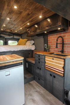 Fred - Freedom Vans - Time to downsize! - Fred – Freedom Vans Best Picture For van life diy For Your Taste You are looking for something, - Interior Trailer, Motorhome Interior, Kombi Interior, Diy Van Interior, Small Camper Interior, Kitchen Interior, Interior Ideas, Kitchen Decor, Van Life