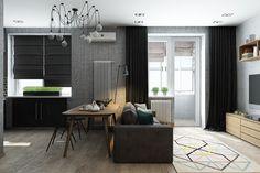 black and grey design