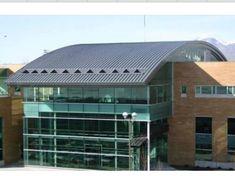 Curved Standing Seam Metal Roof Englert inc metal roofing & Series 300 Curved Metal Roof on Sharon Elementary School | ACADEMY ... memphite.com