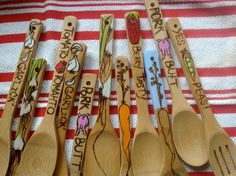 "WoodBurned Spoon by LettuceCreate on Etsy"".............Beth, yours would be so cute!!"