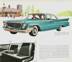 1961 Chrysler Newport saloon - Vintage and Retro Cars Chrysler Windsor, Chrysler Imperial, Old Advertisements, Car Advertising, Chrysler Newport, Chrysler Cars, Retro Cars, 1960s Cars, Best Muscle Cars