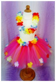 Hawaiian inspired tutu
