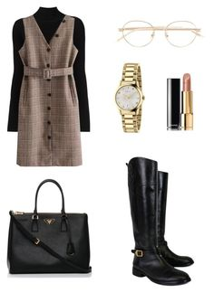 """Outfit"" by lilyhastings98 on Polyvore featuring moda, Misha Nonoo, Tory Burch, Gucci, Chanel ve Prada"