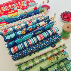 Road Trip Fabrics by Kelly Panacci for Riley Blake Designs