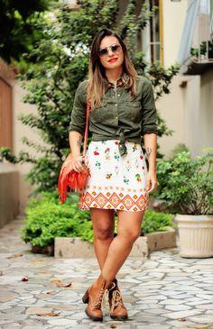 Small Fashion Diary: abafando uma estampa