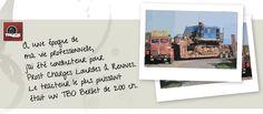 L'exceptionnelle capacité de Mercedes Benz : SLT - truck Editions