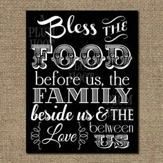 Hey, I found this really awesome Etsy listing at https://www.etsy.com/listing/175423186/kitchen-blessingprayer-art-printable