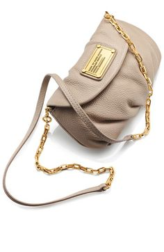 perfect for spring/summer - MARC BY MARC JACOBS 'Classic Q - Karlie' Crossbody Flap Bag