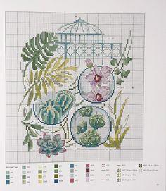 Veronique Enginger '' Les Plus Belles Collections au point de croix '' Jardin botanique   - 2/2