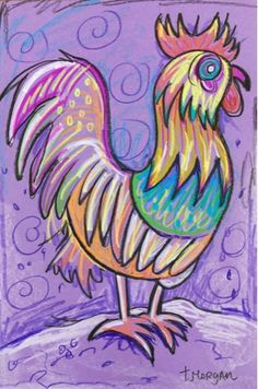 The Lost Sock : Picasso a Rooster