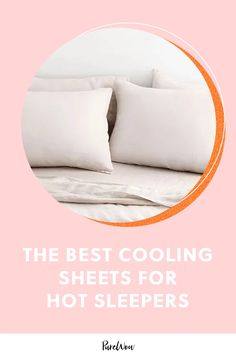 If you're a hot sleeper, it might be time to invest in some high-tech bedding that's made to keep you cool, all night long. #cooling #sheets #sleep Best Sheets, Sheets Bedding, Best Cooling Sheets, Linens And More, Bed Sheet Sets, How To Make Bed, Home Hacks, How To Fall Asleep