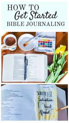 How to Get Started Bible Journaling: Bible Journaling for Beginners | Bible…