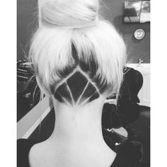 Hair pinterest Undercut ❤ liked on Polyvore featuring hair