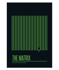 The Matrix (1999) | Minimalist Movie Poster