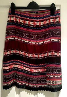 179de0bd3f92 Just Cavalli multi coloured skirt UK 6/8 Euro size 40 #fashion #clothing