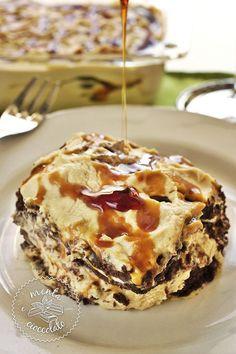 Menta e Cioccolato: Incanto di Crema al Mou e Caramello ... Velocissimo, facile e stragoloso!