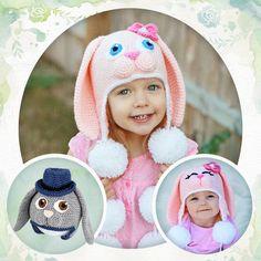 Bonnet lapin mignon - 9 tailles du bébé à l adulte - crochet chez Makerist b4dcb358c82