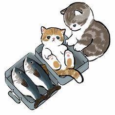 Kitten Cartoon, Cute Cartoon, Kittens Cutest, Cats And Kittens, Kitten Drawing, Cute Cat Illustration, Cute Animal Drawings Kawaii, Cat Aesthetic, Animal Sketches