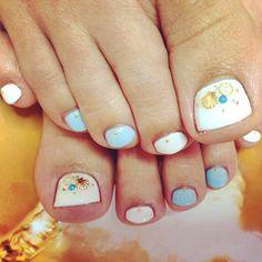 #idol #nail #nails #nailart #pedicure #pedi #アイドル#下北沢#フットネイル