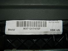 BMW 645I 650I E63 E64 KNEE AIRBAG 51167131747 GLOVE BOX VINYL -   THIS LISTING IS FOR A BMW 645I 650I E63 E64 KNEE AIRBAG 51167131747 GLOVE BOX VINYL.   THE #BMW 645I 650I E63 E64 KNEE AIRBAG #51167131747 GLOVE BOX VINYL IS IN GOOD WORKING CONDITION AND WILL FIT IN THE FOLLOWING VEHICLES  GLOVE BOX VINYL  BASALTGRAU  IF YOU HAVE ANY QUESTIONS, PLEASE FEEL FREE TO CALL WITH ANY QUESTIONS AT: 832-878-0215