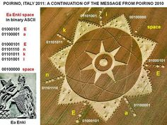 Anunnaki Message? The Crop Circle Ea Enki, Nibiru and Marduk | RiseEarth