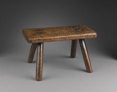 Robert Young Antiques - Collection. Georgian Rectangular Stool #FolkArt