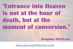 Quotes about heaven - Benjamin Whichcote Heaven Quotes, In This Moment