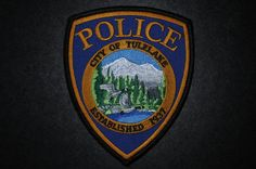 Tulelake Police Patch, Siskiyou County, California (Current 2001 Issue)
