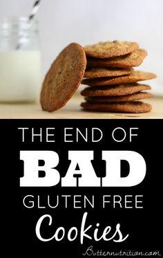 Gluten Free Chocolate Chip Cookie Recipe | Butter Nutrition