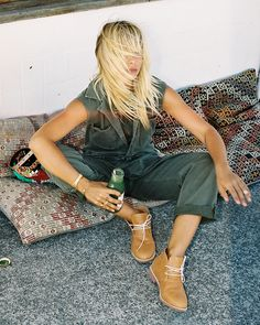 Bared Footwear Tan Nuthatch Desert Boots - Anna Feller