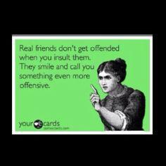 The truest of friends.