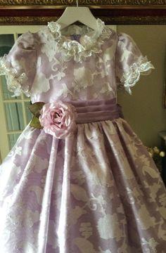 Lilac Silk Dress