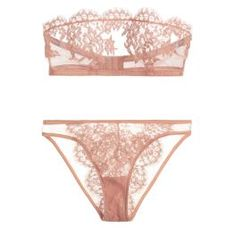 I.D. Sarrieri Jamais le Premier Soir Tulle and Chantilly Lace Bandeau Bra ($185.00) and Brief ($140.00) in Blush I Bedroom Barre: Ballet-Inspired Lingerie & Loungewear Fit For a Fairytale - vanity fair lingerie, lingerie nightwear, baby doll lingerie *sponsored https://www.pinterest.com/lingerie_yes/ https://www.pinterest.com/explore/lingerie/ https://www.pinterest.com/lingerie_yes/plus-size-lingerie/ http://www.torrid.com/intimates/