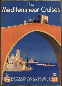 Our Mediterranean Cruises - Hamburg-Amerika Linie (Wusten & Co.)