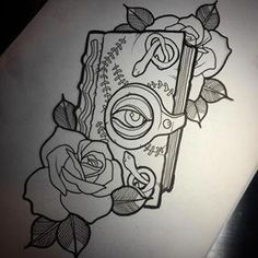 Leg Sleeve Tattoo, 1 Tattoo, Dark Tattoo, Tattoo Quotes, Tattoo Baby, Doodle Tattoo, Tattoo Flash, Spooky Tattoos, Tattoos Skull