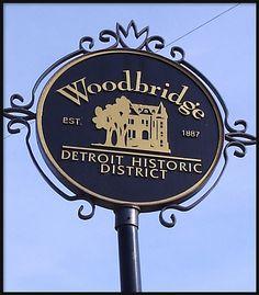 Woodbridge District Detroit, MI. One of the prettiest neighborhoods in the city.