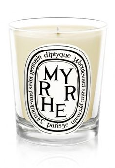 "The next time I am in Chicago or, better yet, New York (less sales tax!), I am going to treat myself to a Diptyque candle.  This Myrrhe candles is exactly as the Diptyque website describes it, ""the gift of a king and a sensual scent since Ancient Times."""