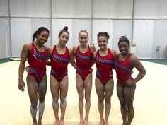 Training USA women Olympic team