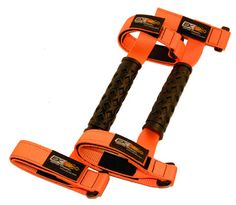 Jeep Grab Handles, Orange, Set of 2