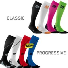 CEP compression socks help improve circulation for a better blood flow and healthier veins! And as an added bonus they come in a variety of bright or bold colors.