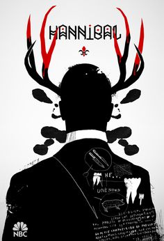 hannibal tv show poster - Google Search