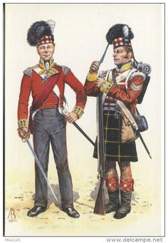 Uniforms of Waterloo in color, 16-18 June 1815, Haythornthwaite 2nd UK HB, VG
