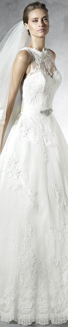 PRONOVIAS BRIDAL GOWNS 2016 PRELINDA WEDDING DRESS
