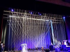 Rope stage design