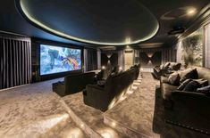 Explore our Dawn Hill, Wentworth Estate project to understand why Ascot Design is a Berkshire based architect with a global reputation for high quality work. Home Cinema Room, Home Theater, Luxury Life, Luxury Homes, Emerson Park, Vientiane, House On A Hill, Home Cinemas, Dawn
