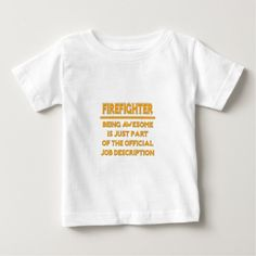 Awesome Firefighter  Official Job Description T Shirt, Hoodie Sweatshirt