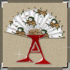 toutlalphabet2 - Page 572 Style Alphabet, Alphabet Letters, Hand Fan, Creations, Fans, Fashion, Deko, Moda, Letters Of Alphabet