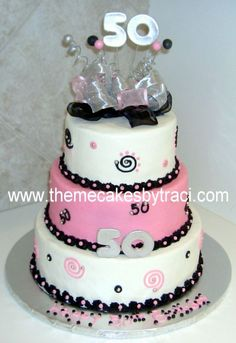 Elegant Birthday Cakes For Women | 50th+birthday+cakes+pictures+for+women