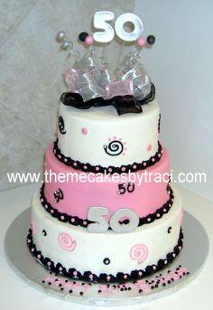 Elegant Birthday Cakes For Women | 50th+birthday+cakes+pictures+for+women