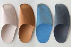トートーニー 一枚革のスリッパtoe to knee one-piece slippers - 北欧・日本のインテリアショップ ROUND ROBIN   ラウンドロビン